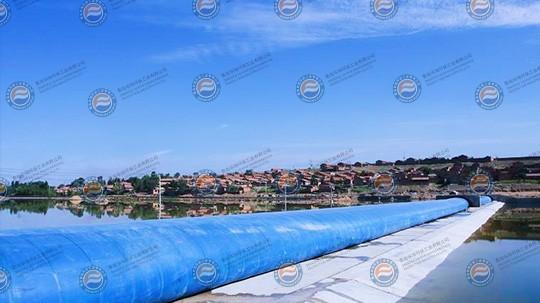 内蒙古二道河子枕式橡胶坝