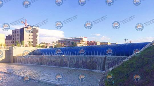 新疆沙湾橡胶坝