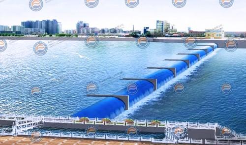 河道工程橡胶坝