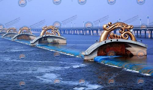 沂河桃园橡胶坝