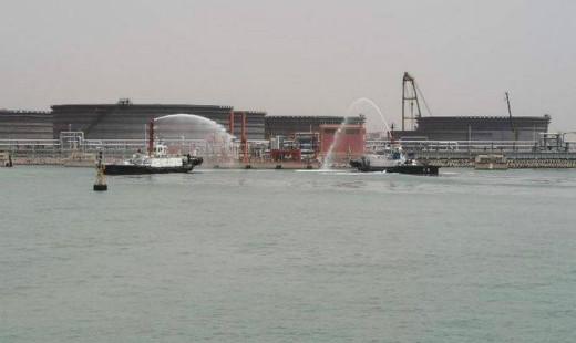 日照海事局组织开展船舶溢油应急演练