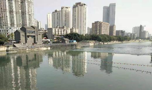 """20多年橡胶坝要变气盾坝,明年""""夜游锦江""""将达7公里"""
