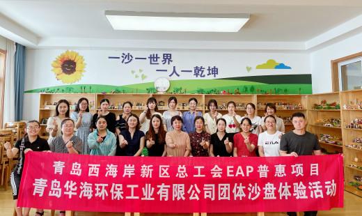 青岛华海环保工业有限公司工会联合区总工会开展EAP惠普项目团体沙盘体验活动