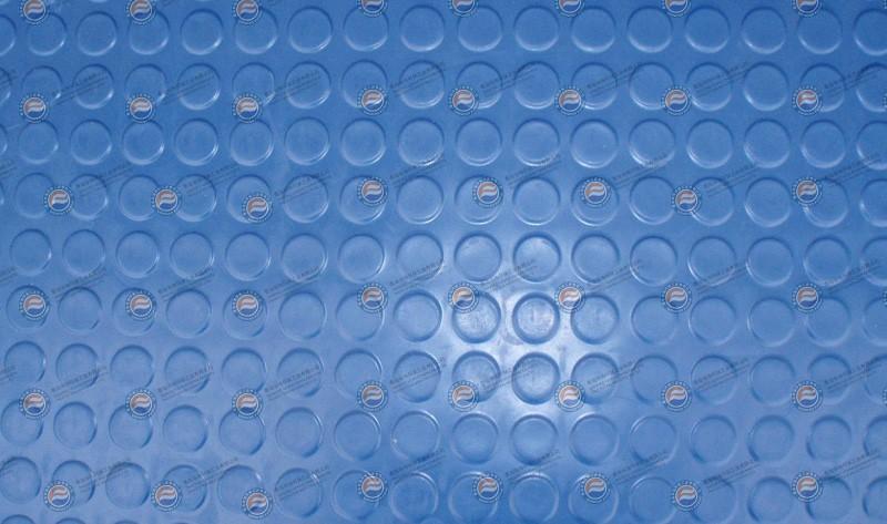 橡胶板-蓝色圆点