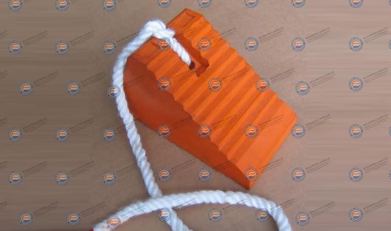 橡胶楔子-橙色